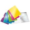 """Kép 3/8 - Gyorsfűző, klipes, PP, A4, LEITZ """"Wow ColorClip"""" lila"""