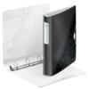 """Kép 3/8 - Gyűrűs könyv, 4 gyűrű, D alakú, 52 mm, A4, PP, LEITZ """"Active Wow"""", fekete"""
