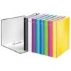 """Kép 4/8 - Gyűrűs könyv, 2 gyűrű, D alakú, 40 mm, A4 Maxi, karton, LEITZ """"Wow"""", rózsaszín"""