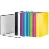 """Kép 4/8 - Gyűrűs könyv, 4 gyűrű, D alakú, 40 mm, A4 Maxi, karton, LEITZ """"Wow"""", rózsaszín"""