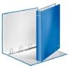 """Kép 3/8 - Gyűrűs könyv, 4 gyűrű, D alakú, 40 mm, A4 Maxi, karton, LEITZ """"Wow"""", kék"""