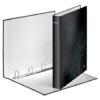 """Kép 3/8 - Gyűrűs könyv, 4 gyűrű, D alakú, 40 mm, A4 Maxi, karton, LEITZ """"Wow"""", fekete"""
