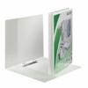 Kép 3/8 - Gyűrűs könyv, panorámás, 2 gyűrű, O alakú, 30 mm, A4 Maxi, PP, LEITZ, fehér