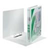 Kép 2/8 - Gyűrűs könyv, panorámás, 2 gyűrű, D alakú, 44 mm, A4 Maxi, PP, LEITZ, fehér