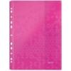 """Kép 3/8 - Genotherm, lefűzhető, A4, 200 mikron, LEITZ """"Wow"""", vegyes színek"""