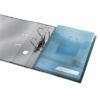 """Kép 3/8 - Genotherm, lefűzhető, A4, 200 mikron, füllel, LEITZ """"CombiFile Jumbo"""", kék"""