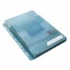 """Kép 4/8 - Genotherm, lefűzhető, A4, 200 mikron, füllel, LEITZ """"CombiFile Jumbo"""", kék"""