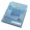 """Kép 5/8 - Genotherm, lefűzhető, A4, 200 mikron, füllel, LEITZ """"CombiFile Jumbo"""", kék"""