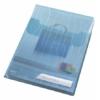 """Kép 6/8 - Genotherm, lefűzhető, A4, 200 mikron, füllel, LEITZ """"CombiFile Jumbo"""", kék"""