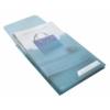 """Kép 7/8 - Genotherm, lefűzhető, A4, 200 mikron, füllel, LEITZ """"CombiFile Jumbo"""", kék"""