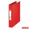 """Kép 1/8 - Gyűrűs könyv, 2 gyűrű, 42 mm, A5, PP, ESSELTE """"Standard"""", Vivida piros"""