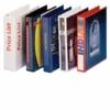 Kép 2/8 - Gyűrűs könyv, panorámás, 4 gyűrű, 25 mm, A4, PP, ESSELTE, kék