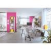 """Kép 4/8 - Irattároló, műanyag, 4 fiókos, LEITZ """"Wow Cube"""", fehér/rózsaszín"""