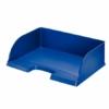 """Kép 1/8 - Irattálca, műanyag, oldalt nyitott, LEITZ """"Plus Jumbo"""", kék"""