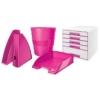 """Kép 4/8 - Irattálca, műanyag, LEITZ """"Wow"""", rózsaszín"""
