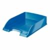 """Kép 1/8 - Irattálca, műanyag, LEITZ """"Wow"""", kék"""