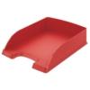 """Kép 1/8 - Irattálca, műanyag, LEITZ """"Plus"""", piros"""
