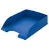 """Kép 1/8 - Irattálca, műanyag, LEITZ """"Plus"""", kék"""