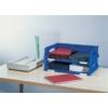 """Kép 2/8 - Irattálca, műanyag, A3, LEITZ """"Sorty Jumbo"""", kék"""