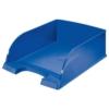 """Kép 1/8 - Irattálca, műanyag, LEITZ """"Plus Jumbo"""", kék"""