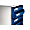"""Kép 3/8 - Irattároló, műanyag, 5 fiókos, LEITZ """"Standard"""", kék"""