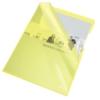 """Kép 1/8 - Genotherm, """"L"""", A4, 150 mikron, víztiszta felület, ESSELTE """"Luxus"""", sárga"""