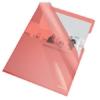 """Kép 1/8 - Genotherm, """"L"""", A4, 150 mikron, víztiszta felület, ESSELTE """"Luxus"""", piros"""