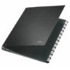 Kép 1/8 - Előrendező, A4, 12 részes, karton, LEITZ, fekete