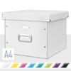 """Kép 2/8 - Irattároló doboz, függőmappának, LEITZ """"Click&Store"""", fehér"""