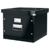"""Kép 1/8 - Irattároló doboz, függőmappának, LEITZ """"Click&Store"""", fekete"""