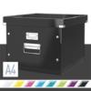 """Kép 2/8 - Irattároló doboz, függőmappának, LEITZ """"Click&Store"""", fekete"""
