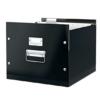 """Kép 3/8 - Irattároló doboz, függőmappának, LEITZ """"Click&Store"""", fekete"""