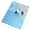 """Kép 1/8 - Genotherm, """"L"""", A4, 105 mikron, narancsos felület, ESSELTE """"Standard"""", kék"""