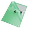 """Kép 1/8 - Genotherm, """"L"""", A4, 105 mikron, narancsos felület, ESSELTE """"Standard"""", zöld"""