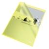 """Kép 1/8 - Genotherm, """"L"""", A4, 105 mikron, narancsos felület, ESSELTE """"Standard"""", sárga"""