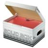 """Kép 3/8 - Archiváló doboz, S méret, LEITZ """"Solid"""", fehér"""