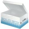 """Kép 1/8 - Archiváló doboz, S méret, LEITZ """"Solid"""", világos kék"""