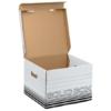 """Kép 1/8 - Archiváló doboz, M méret, LEITZ """"Solid"""", fehér"""