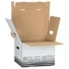 """Kép 2/8 - Archiváló doboz, M méret, LEITZ """"Solid"""", fehér"""