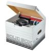 """Kép 4/8 - Archiváló doboz, M méret, LEITZ """"Solid"""", fehér"""