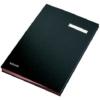 Kép 1/8 - Aláírókönyv, A4, 20 részes, karton, ESSELTE,fekete