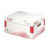 """Kép 1/8 - Archiváló konténer, S méret, újrahasznosított karton, ESSELTE """"Speedbox"""", fehér"""