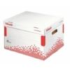 """Kép 1/8 - Archiváló konténer, újrahasznosított karton, felfelé nyíló, ESSELTE """"Speedbox"""", fehér"""