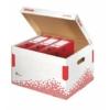 """Kép 2/8 - Archiváló konténer, újrahasznosított karton, felfelé nyíló, ESSELTE """"Speedbox"""", fehér"""