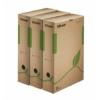 """Kép 1/8 - Archiváló doboz, A4, 80 mm, újrahasznosított karton, ESSELTE """"Eco"""", barna"""