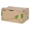 """Kép 1/8 - Archiváló konténer, újrahasznosított karton, előre nyíló, ESSELTE """"Eco"""", barna"""
