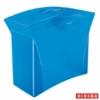 """Kép 1/8 - Függőmappa tároló, műanyag, 5 db függőmappával, mobil, ESSELTE """"Europost"""", Vivida kék"""