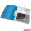 """Kép 1/8 - Előrendező, A4, 12 részes, műanyag, ESSELTE """"Vivida"""", áttetsző"""