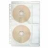 Kép 1/8 - Genotherm, lefűzhető, A4, PP/textil, 200 mikron, víztiszta felület, CD/DVD tartó, ESSELTE