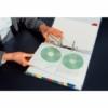 Kép 2/8 - Genotherm, lefűzhető, A4, PP/textil, 200 mikron, víztiszta felület, CD/DVD tartó, ESSELTE